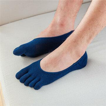 Мужские носки Men Cotton Mesh Breathable