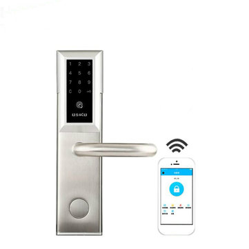Electronic Bluetooth Smart Door Lock Smartcode Digital Keyless Touch Password For Home Office