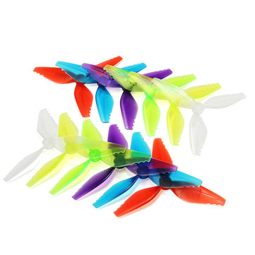 10 Pairs Racerstar Fish Bone V2 5041 3 Blade Racing Propeller 5.0mm Mounting Hole for Racing Frame
