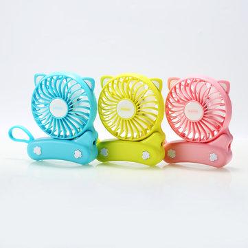 Remax Summer Mini ชาร์จได้ Cat พัดลมระบายความร้อนแบบพกพา USB Charge พัดลมระบายความร้อนแบบมือถือ