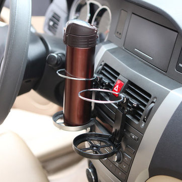 Universal Car Air Vent Folding Cup Holder Outlet Auto Beverag Mount Stand