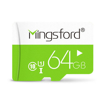 Mingsford Colorful Edition 64GB Class 10 TF Memory Card