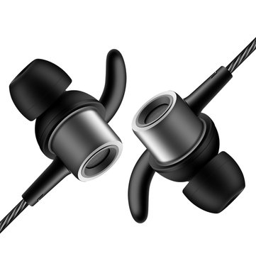 QKZ CK1 Metal Mega Bass HIFI Double Dynamic Drivers Earphone Music Headset With Mic For Mobile Phone