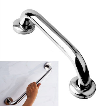 Stainless Steel Safety Bath Bathroom Shower Tub Hand Grips Grab Bar Handle 25cm