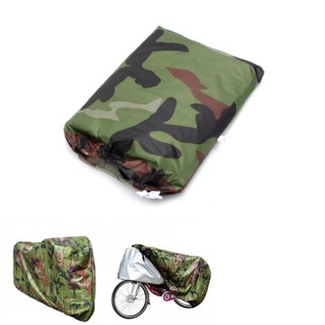 Camouflage Waterproof Rain Cover Bicycle Bike Motorcycle Electric Scooter 200x70x110cm/79x28x43in
