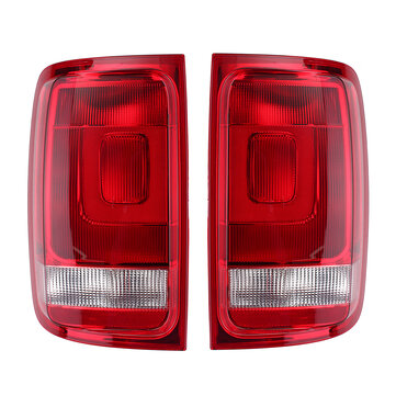 Car Rear Left/Right Tail Light Assembly Brake Lamp with No Bulbs for VW Amarok 2010-2018