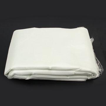 1.27 x 9m Fiber Glass Woven Roving Cloth White Window Screening