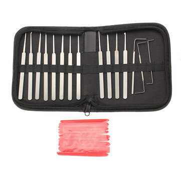12Pcs High Quality Lock Picks Tools Set Lock Opener Locksmith Tools