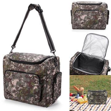 IPRee Outdoor Travel Bag dispositivo di raffreddamento isolato pacco alimentare Picnic Lunch Box di stoccaggio escursione di campeggio