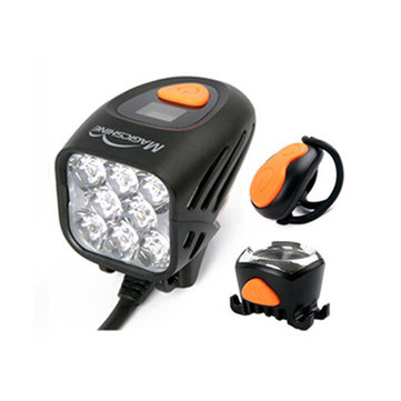 Magicshine MJ 908 8000Lumens Bike Light Set Wireless Remote Bicycle Lights Front LED Bike Tail Light