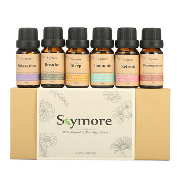 Skymore 100% Pure Top 6 Essential Oils for Diffuser