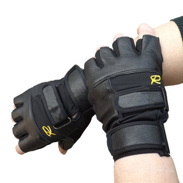 Unisex Tactical Half Finger Bike Gloves Slip Resistant Sports Fitness Gloves Black For Cycling Riding