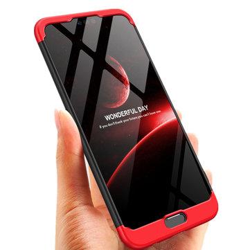 Bakeey ™ 3 in 1 Double Dip 360 ° Полная защита ПК Защитная Чехол Для Huawei Honor 10