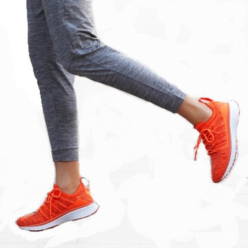 Xiaomi Mijia Sneakers 2 Woman Techinique New Fishbone Lock System Elastic Knitting Vamp Shoes