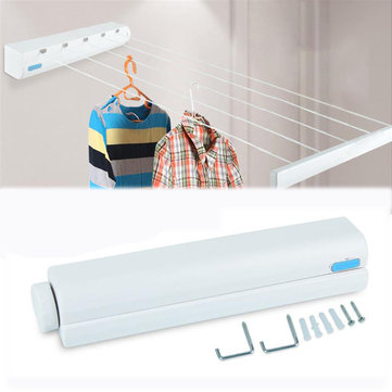 Honana HH-01 Multi-Functional 4/5 Line 3.2/3.75M Retractable Clothesline Cloth Hanger Dryer ABS