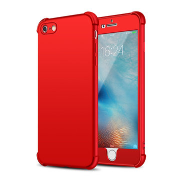 Bakeey™ 2 in 1 360° Full Body Hybrid Front PC + Back Soft TPU Gasbag Case for iPhone 6Plus 6sPlus