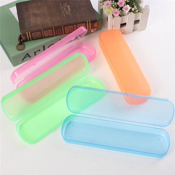 Travel Camping Toothpaste Toothbrush Holder Plastic Protect Cases