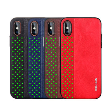 Fashion Soft PU Leather Ultra Thin Shockproof Protective Case For iPhone X