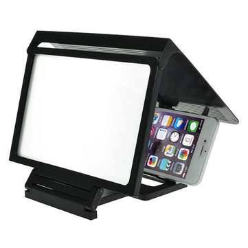 Ultra Slim Foldable 3D High Definition Shading Shield Screen Magnifier For Cell Phone
