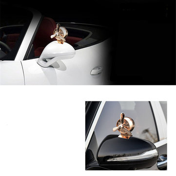 Air Force Aircraft Propeller Car HD Round Blind Spot Rearview Mirror 360 Degree Wide Angle Mirror
