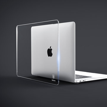 Baseus Air Case Dustproof Scratch Proof Transparent PC Cover For MacBook Pro 15