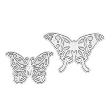 Butterflies Pattern Set Scrapbooking DIY Photo Album Card Paper Art Craft Maker Metal Cutting Dies