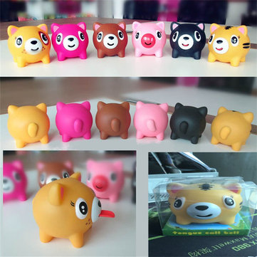 Screams Tongue Doll Tricky Vent Pig Birthday Gift Squeeze Stress Relief Toy Random Color With Box