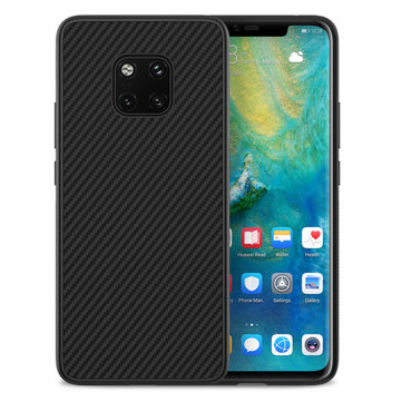 NILLKIN Carbon Fiber Shockproof Ultra Thin Back Cover Protective Case for Huawei Mate 20 Pro