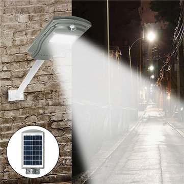 20W Solar Powered Radar Sensor Light Control LED Street Light Outdoor Waterproof Wall Lamp