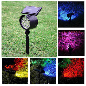 Solar Powered 12 LED Warm/Pure White Waterproof Outdoor Light Garden Yard Landscape Decor DC5V