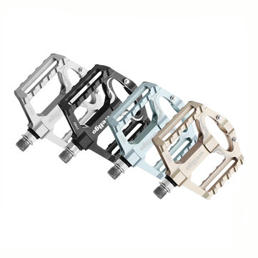 WELLGO KB010 Cycling MTB Mountain Road Bike Bicycle Pedals Aluminum Alloy DU Sealded Bearings
