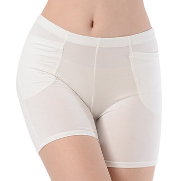 Cosy Seamless Modal Safety Pants Anti Exposure Thin Shorts