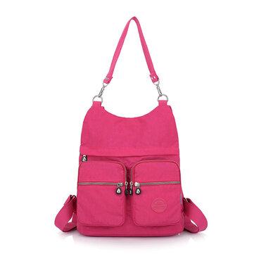 Nylon Waterproof Fashion Shoulder Bags Backpack