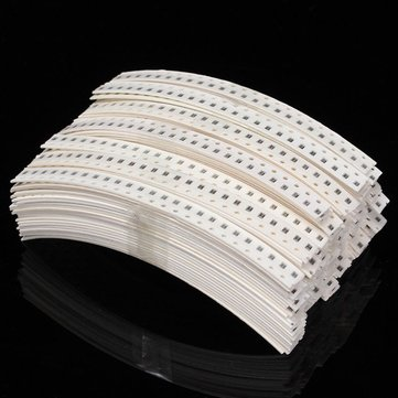 4425pcs 5% 0805 SMD Resistor Kit 177 Values Resistance Element Pack