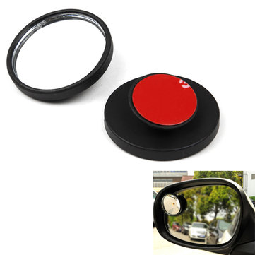 1pcs Car Comprehensive Adjustable Small Round Mirror 2inch Auxiliary Blind Spot Mirror HP-9982