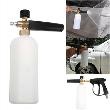 High Pressure Washer Gun Jet 1/4 Snow Foam Lance Cannon Car Clean Washer Bottle