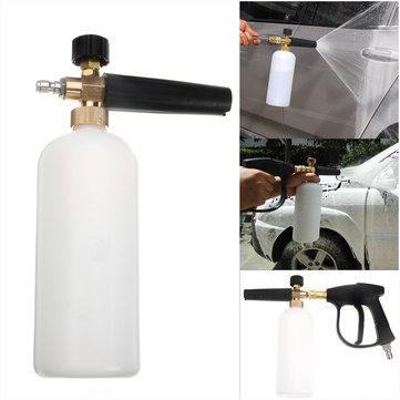High Pressure Washer Gun Jet 1/4 Snow Foam Lance Cannon Car Clean Washer Bottle