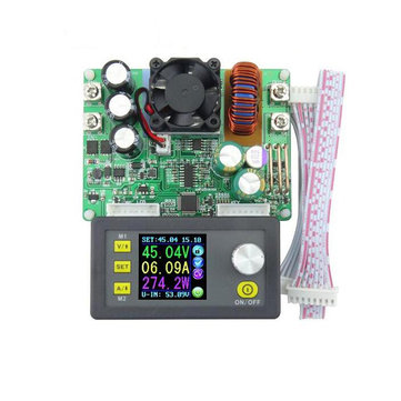 RUIDENG DP50V15A DPS5015 Programmable Supply Power Module With Integrated Voltmeter Ammeter Color Display