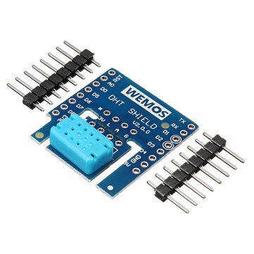 Wemos® DHT Shield V2.0.0 For WEMOS D1 Mini DHT12 I2C Digital Temperature And Humidity Sensor Module