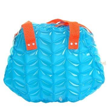 Mulheres bolsa inflável que nada bolsa bolsa de praia de bolsa impermeável bolsa inflável