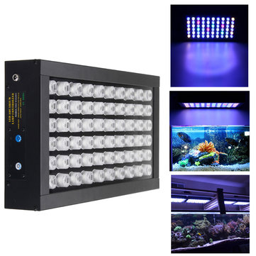 60W Dimmable 60 LED Full Spectrum Grow Light Fish Tank Aquarium Lamp AC85-265V