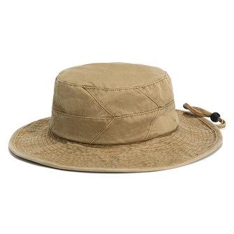 남성 여름 면화 와이드 버트 어부 모자 야외 여행 자외선 차단 버킷 모자
