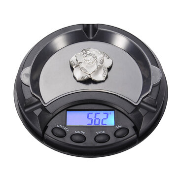 0.1/0.01 Mini Ashtray Pocket Portable Jewelry Scale CE Certification