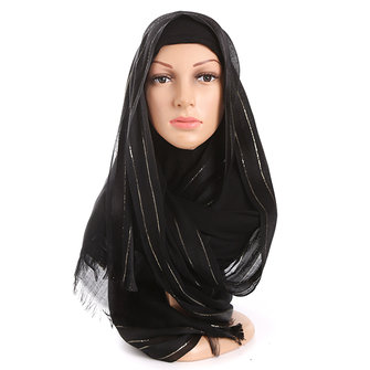 Women Chiffon Solid Muslim Head Coverings Hijab Face-lift Headscarf Hat Islamic Scarf