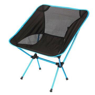 Esterno portatile sedia pieghevole sgabello sedile spiaggia campeggio trekking per bbq pic-nic
