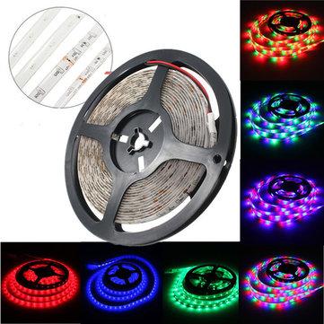5M 300 LEDs SMD 3014 Red/Green/Blue/RGB Flexible LED Strip Light Non-Waterproof DC 12V