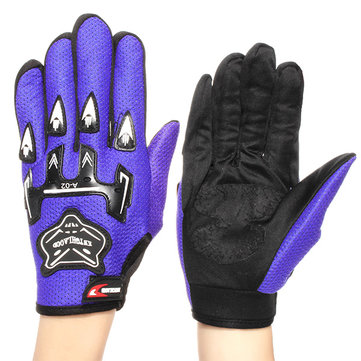 Full Finger Warm Gloves Men's Breathable Protective For Motorcycle Bicycle Racing Riding Skiing