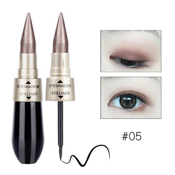 HengFang Shimmer Eye Shadow Stick Glitter Eyeshadow Waterproof Black Eyeliner Highlighter Makeup