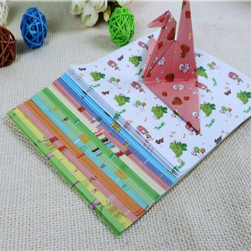 72 Sheets Origami Crane Craft Folding Paper Various Pattern