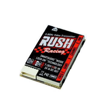 RUSH Tank Racing VTX 5.8G Smart Audio Video Transmitter 20/50/200/500mW for RC Drone Multi Rotor
